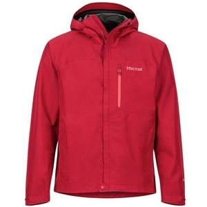 Marmot Membrain Minimalist Hood Red Jacket Coat M
